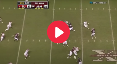 Ryan Tannehill's 64-Yard TD Strike Sealed OU Upset