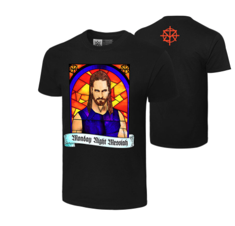 "Seth Rollins ""Monday Night Messiah"" Authentic T-Shirt"