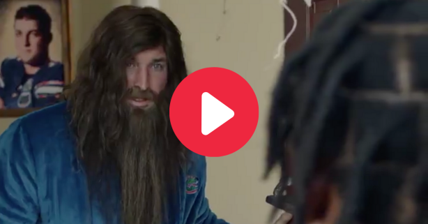 Tim Tebow Debuts Glorious Beard in New Heisman Commercial