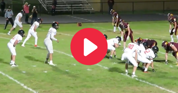 One-Armed HS Quarterback Goes Viral for 6-Touchdown Game