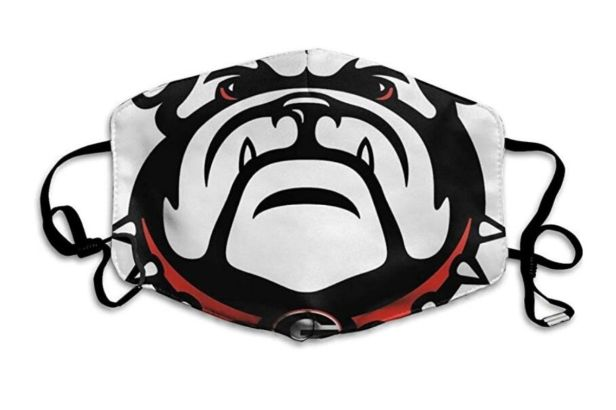 georgia bulldogs face mask-2