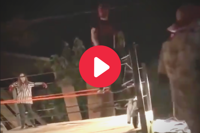 Amateur Wrestler Snaps Both Legs in Backyard Ring Jump