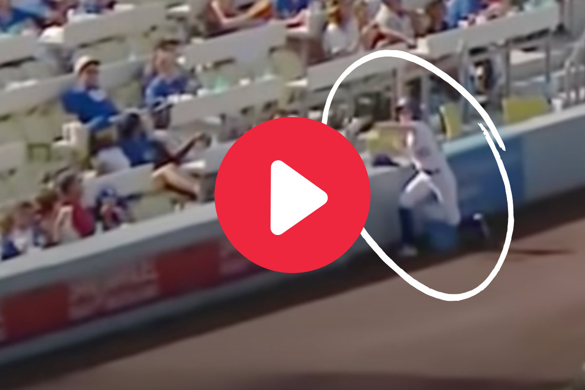 Ball Girl Saves Fans From Screaming 108 MPH Line Drive