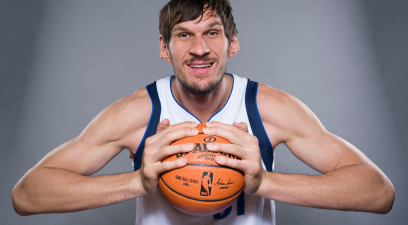 Boban Marjanovic's Massive Hands Aren't Bigger Than His Personality