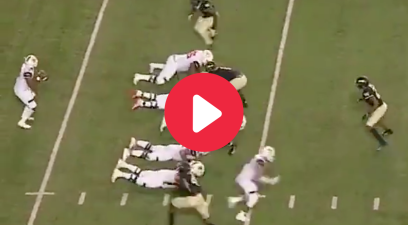 "The ""Belly Flop"" Trick Play Caught the Defense Sleeping"
