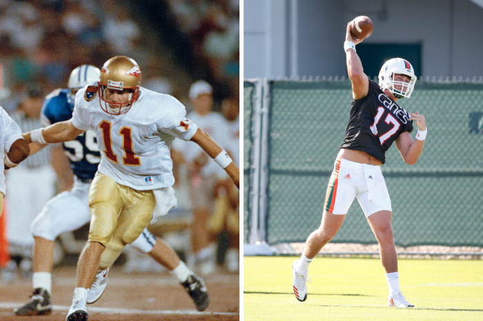 Casey Weldon Nearly Won The Heisman at FSU. Now, His Son Plays.