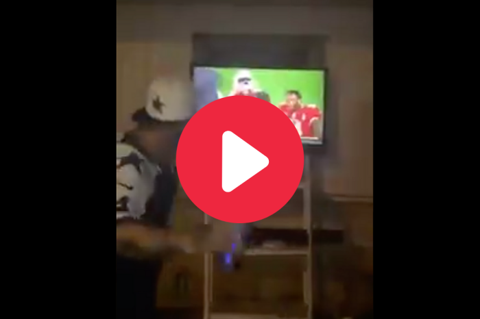 Pissed Off Cowboys Fan Punches, Destroys TV After MNF Loss