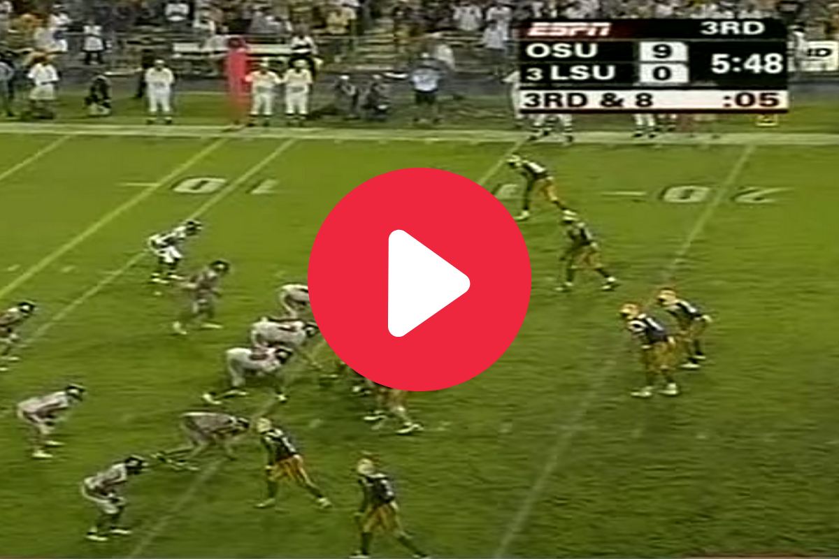 JaMarcus Russell's First LSU TD Led an Epic Comeback