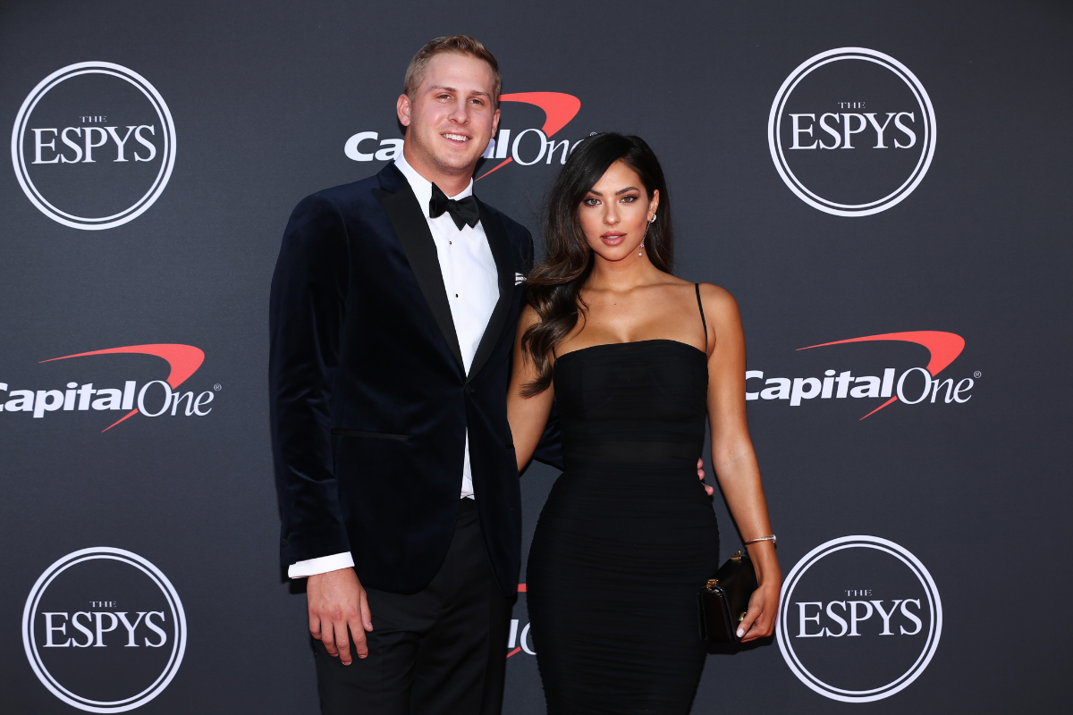 Jared Goff & His Girlfriend Started Dating During the Rams' Super Bowl LIII Run