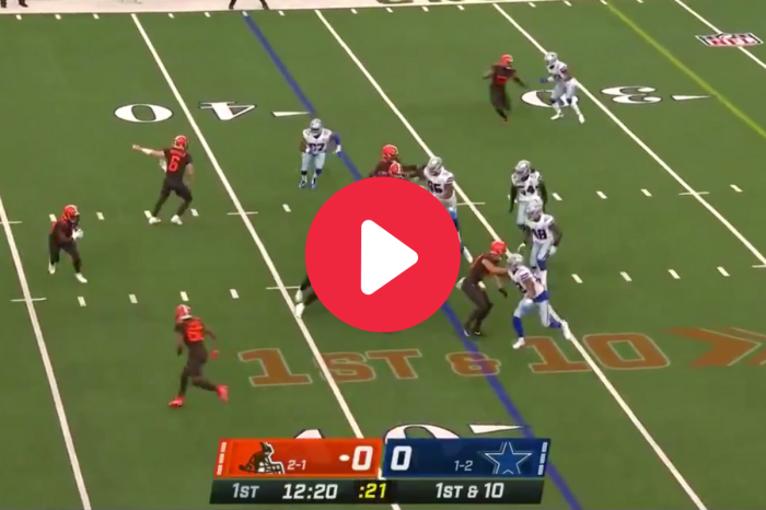 Jarvis Landry's Trick Play TD to OBJ Gave the Cowboys Fits