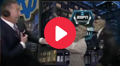 Kirk Herbstreit Screamed Like a Baby During a Halloween Prank