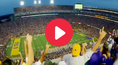 "LSU's ""Saturday Night in Death Valley"" Hype Video Will Give All Tiger Fans Chills"