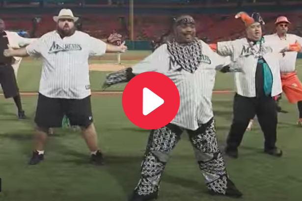 MLB's All-Male Dance Crew Lived Out Every Big Guy's Dream