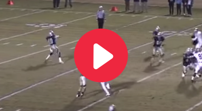 High Schooler's 77 Yard Pass in the Air Made for Trick Play Glory