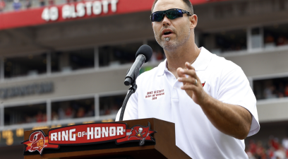 Remember Mike Alstott? He's Now a High School Coach