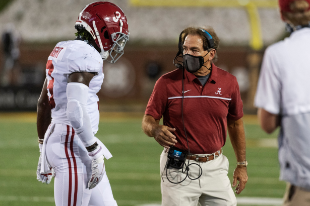 Nick Saban, Alabama AD Greg Byrne Test Postitive for COVID-19