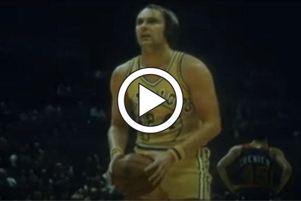 "Rick Barry's ""Granny Shot"" Free Throws Perfected a Childhood Trick"