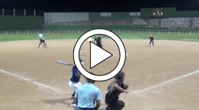 Softball Pitcher Intentionally Hits Umpire, Game Ends Immediately