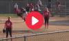 Softball Runner First Base