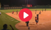 Softball Team Celebrates Early