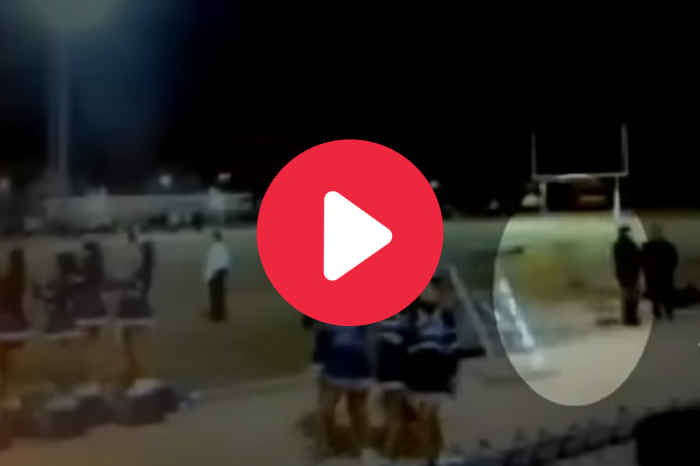 Mom Captures Ghost on Camera at High School Football Game