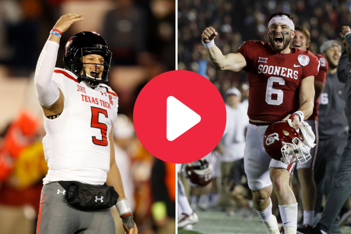 The Mahomes vs. Mayfield Showdown That Rewrote the NCAA Record Book