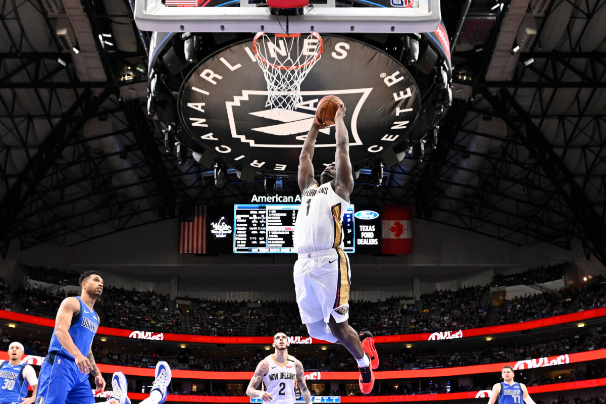 How Does Zion Williamson's Vertical Compare to Past NBA Stars?