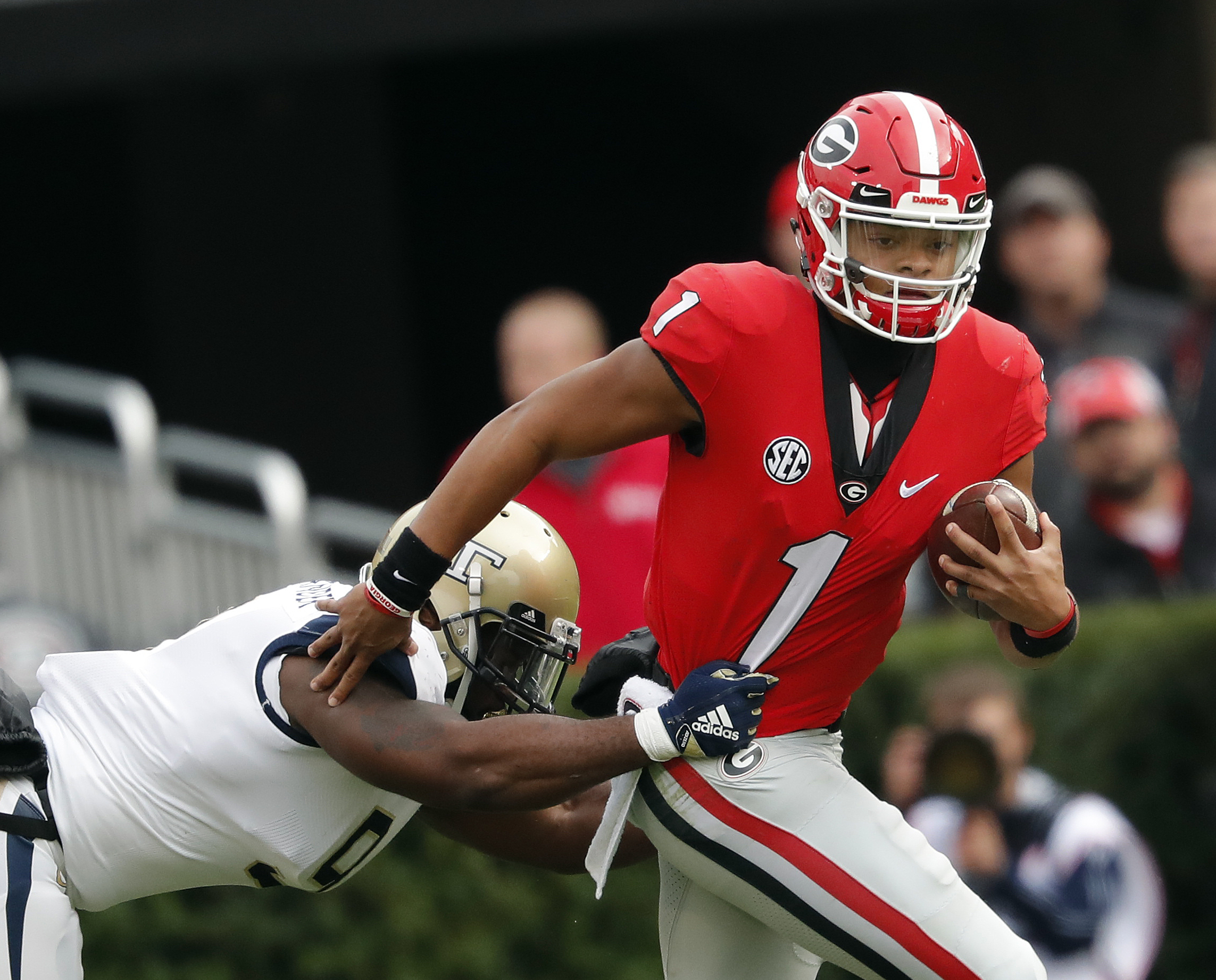 What Happens If Justin Fields Never Leaves Georgia Fanbuzz