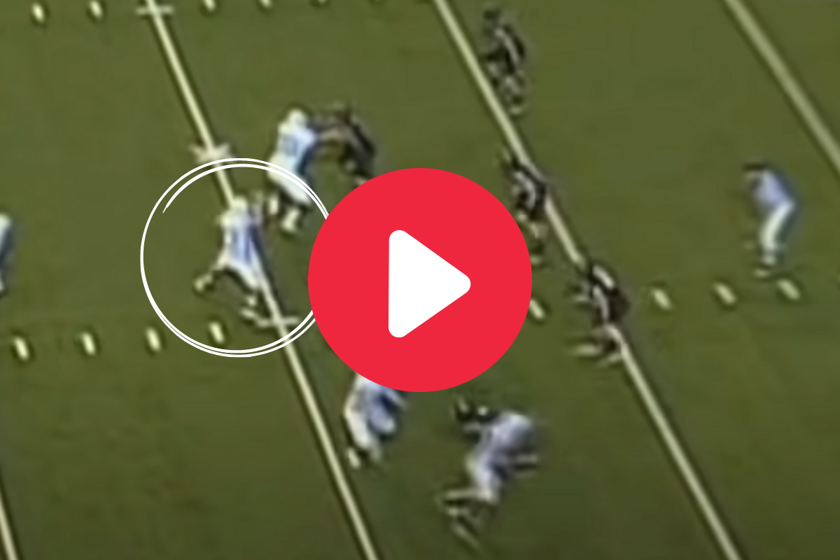 """The """"Bounce Pass"""" Trick Play Looked Illegal, But It Wasn't"""