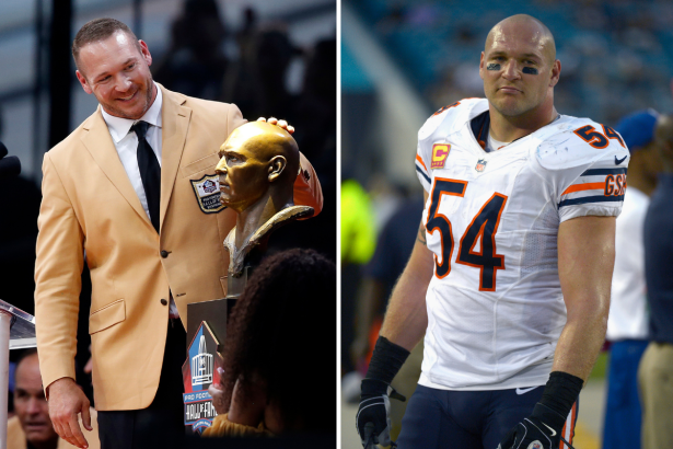 Brian Urlacher Has Hair Now, And He Looks So Different