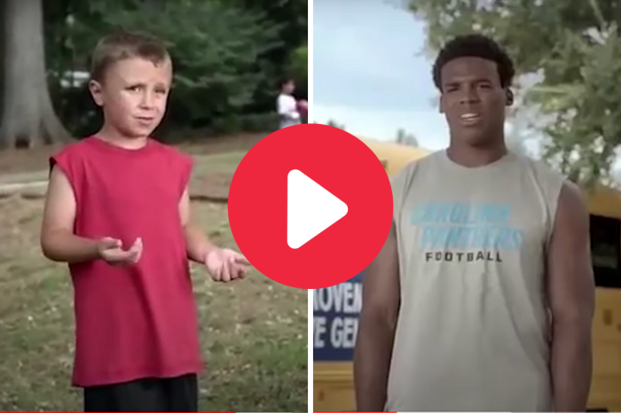 Little Kid Puts Cam Newton in His Place in Classic Commercial