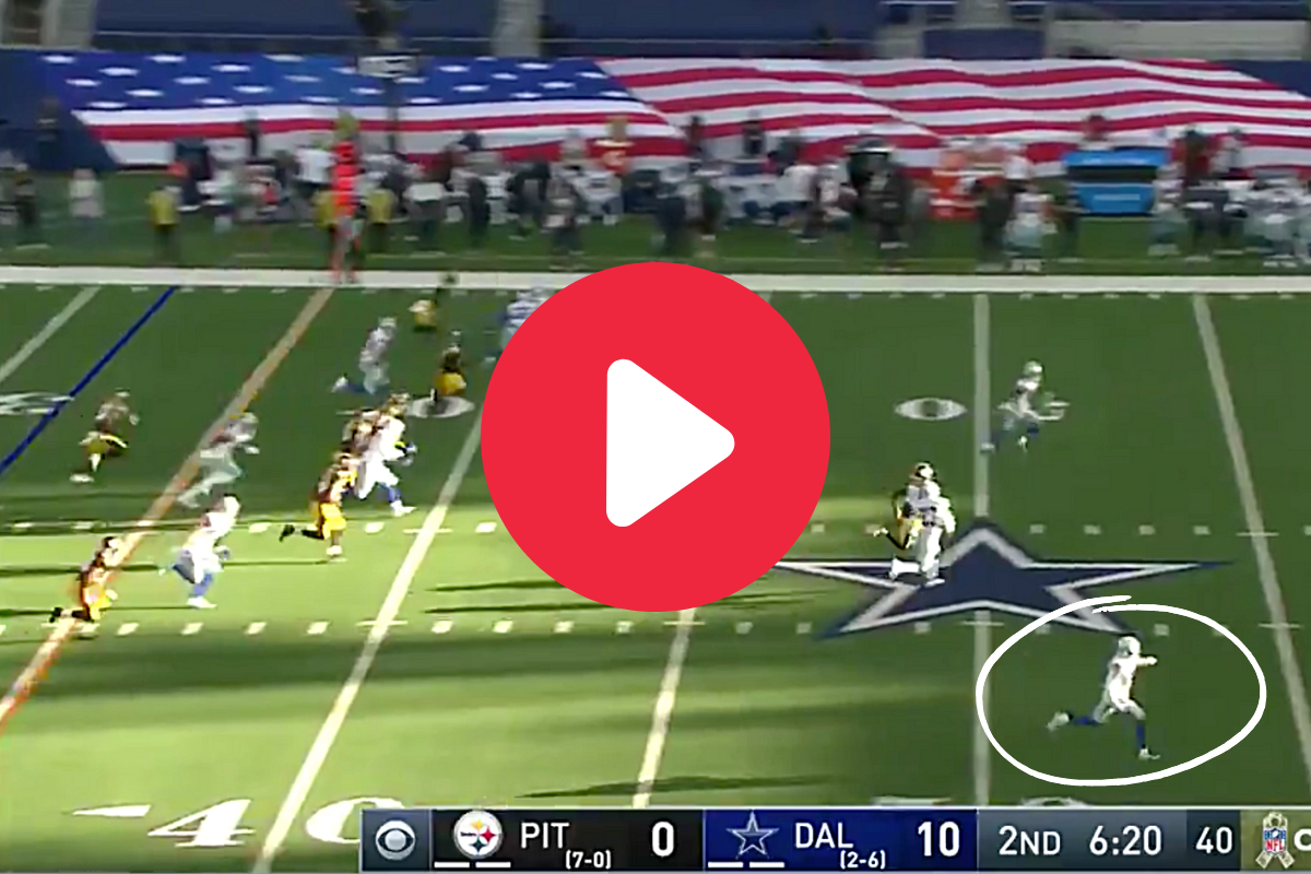 """Cowboys Pull Off """"Fake Injury"""" Trick Play to Perfection"""