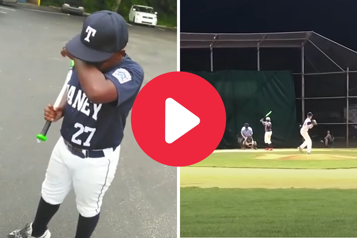 Dad Brings Son to Tears By Gifting Him a Bat, Then Catches His Home Run