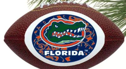 Florida Gators christmas ornament