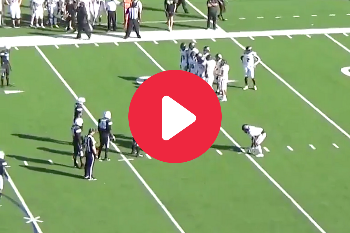 This Bizarre HS Trick Play Formation Even Shocked Referees