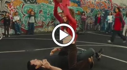 "Halle Berry's ""Catwoman"" Basketball Scene is… Something"