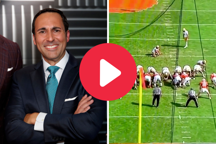 Joe Tessitore Calling His Son's Trick Play Against Clemson is Every Dad's Dream