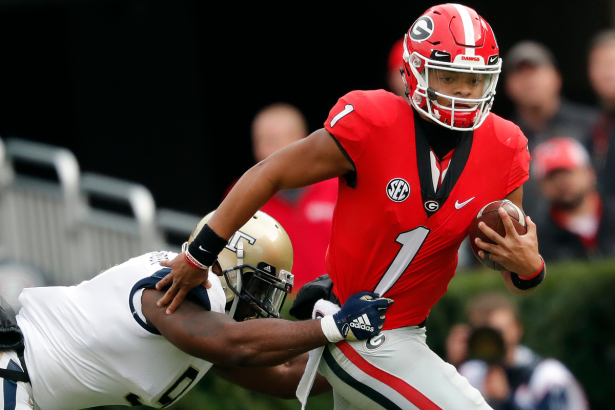 What Happens If Justin Fields Never Leaves Georgia?
