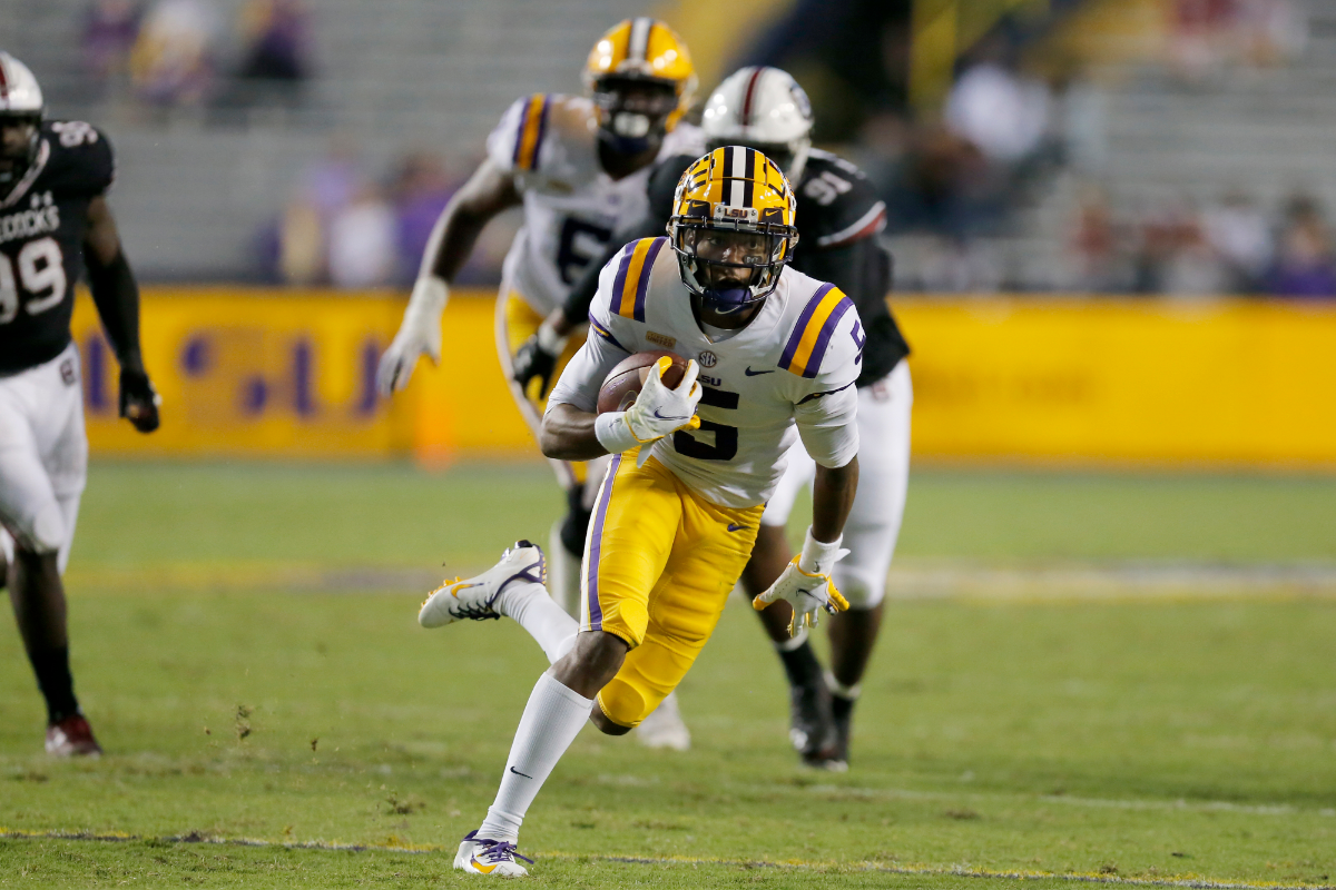 LSU WR Claims Police Tried to Unzip Pants, Pulled Guns on Him