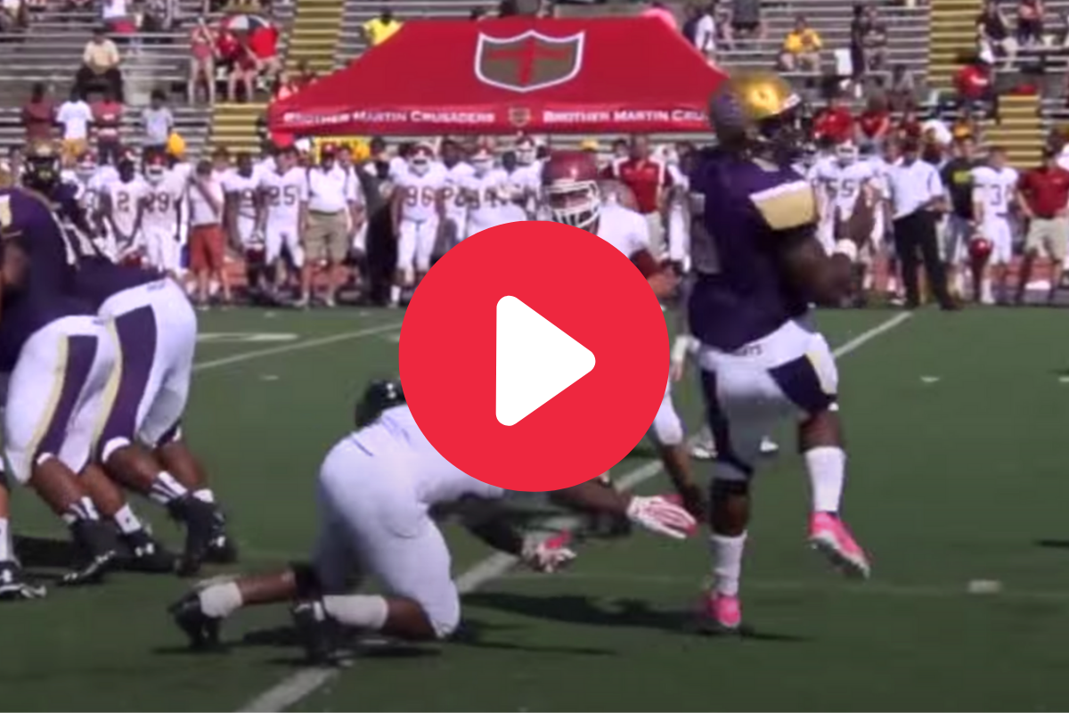 Leonard Fournette's High School Highlights Are Downright Ridiculous