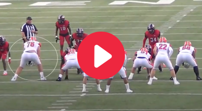 6-Foot-9, 330-Pound Offensive Tackle is a Pancake Machine