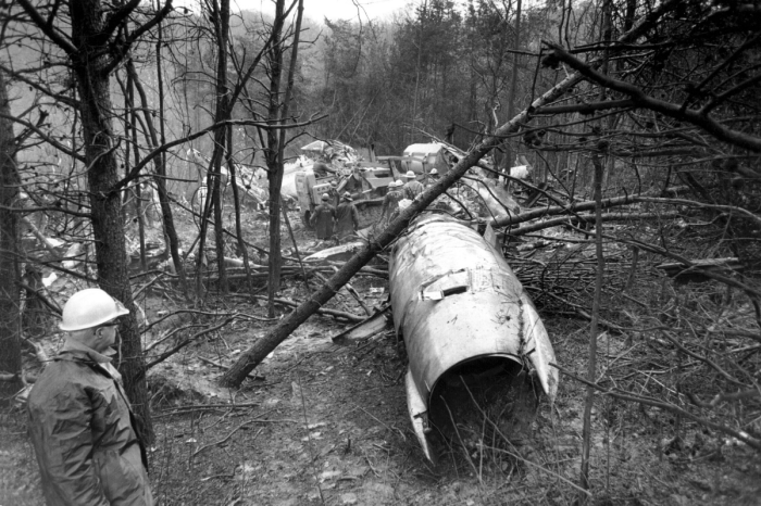 Marshall's Plane Crash Happened 50 Years Ago, But Will Never Be Forgotten