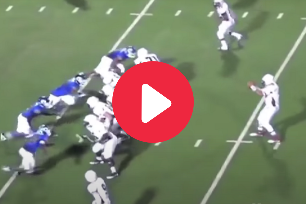 Patrick Mahomes' High School Highlights Look Like a Video Game