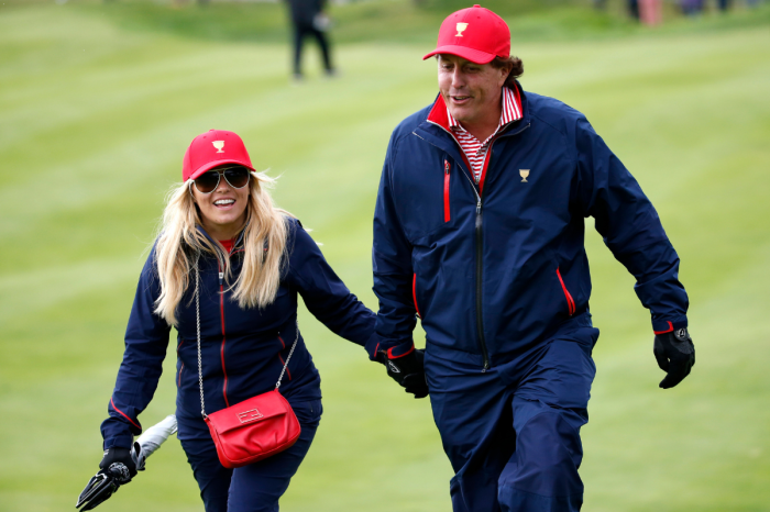 Phil Mickelson's Wife is a Former NBA Cheerleader