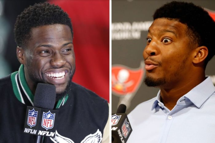 Kevin Hart Roasted Jameis Winston About Crab Legs at FSU Visit