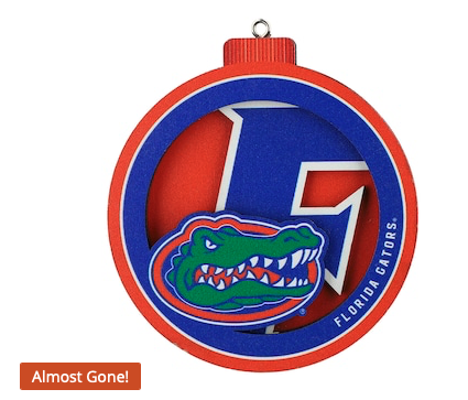 Florida Gators 3D Logo Series Ornament