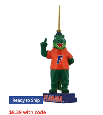 Florida Gators Mascot Statue Ornament