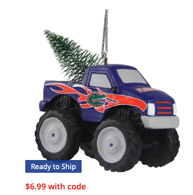 Florida Gators Monster Truck Ornament