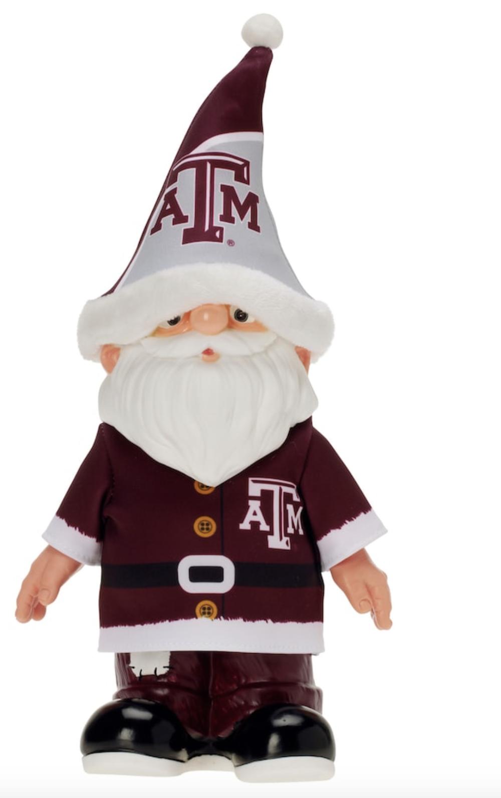 Texas A&M Aggies Santa Gnome