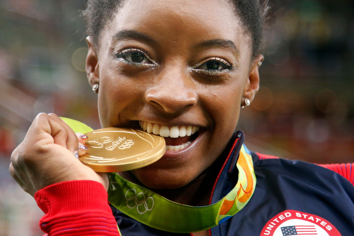 Simone Biles' Net Worth is Proof She's Already an Olympic Icon